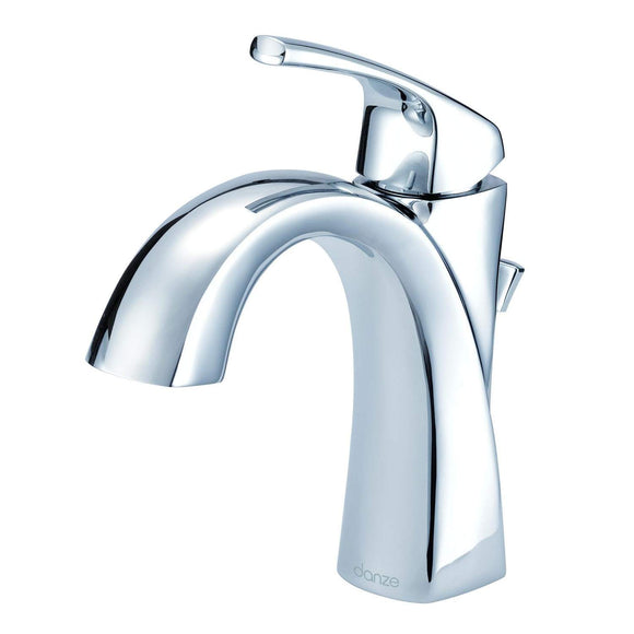 Gerber Danze D225018 Vaughn 1H Bathroom Sink Faucet Single Hole Mount with Metal Pop-Up Drain 1.2gpm Chrome