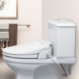 Brondell Swash DS725-EW Advanced Bidet Toilet Seat for Elongated Toilets, White