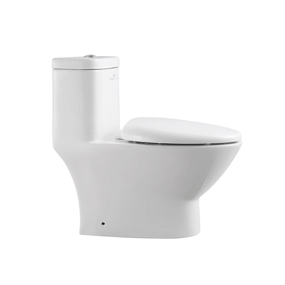 Awesome Fresca Serena One Piece Dual Flush Toilet With Soft Close Seat Andrewgaddart Wooden Chair Designs For Living Room Andrewgaddartcom
