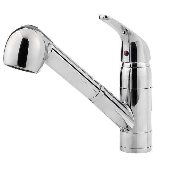 Pfister G133-10CC Pfirst Pull-Out Kitchen Faucet in Polished Chrome