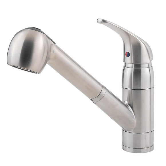 Pfister G133-10SS Pfirst Pull-Out Kitchen Faucet in Stainless Steel