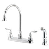 Pfister GT36-4CBC Avalon Kitchen Faucet with Side Spray in Polished Chrome