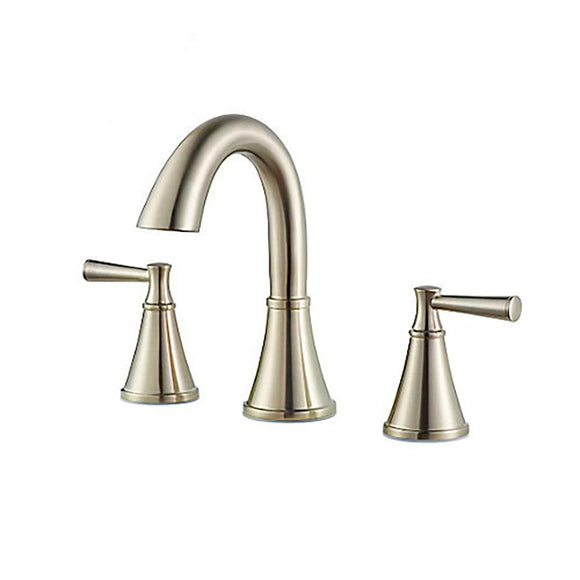 "Pfister LF-049-CRKK Cantara 8"" Widespread Bathroom Faucet in Brushed Nickel"