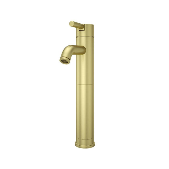 Pfister LG40-NBG00 Contempra Single Control Vessel Bathroom Faucet in Brushed Gold