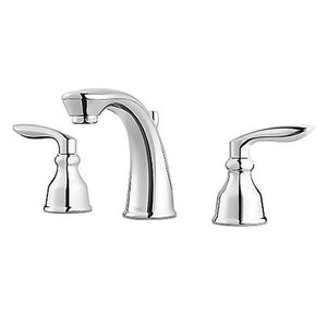 "Pfister LG49-CB1C Avalon Double Handle 8"" Widespread Bathroom Faucet in Polished Chrome"