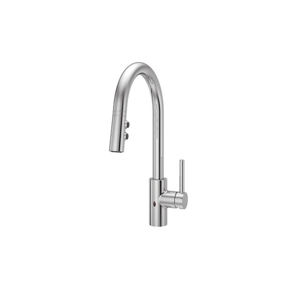 Pfister LG529-ESAC Stellen Electronic Pull-Down Kitchen Faucet in Polished Chrome