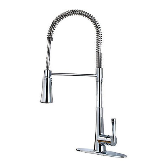 Pfister LG529-MCC Zuri Pull-Down Kitchen Faucet in Polished Chrome