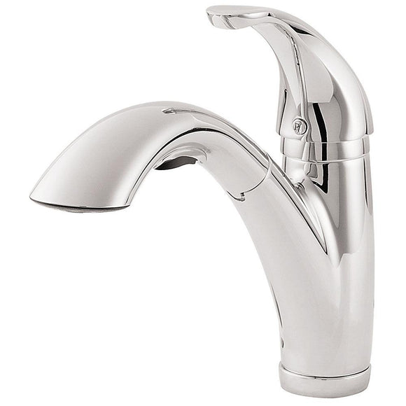 Pfister LG534-7CC Parisa Pull-Out Kitchen Faucet in Polished Chrome