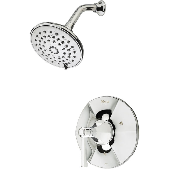 Pfister LG89-7DEC Arterra Shower Only Trim in Polished Chrome