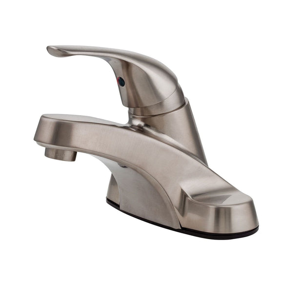 Pfister LJ142-800K Pfirst Single Control Bathroom Faucet in Brushed Nickel