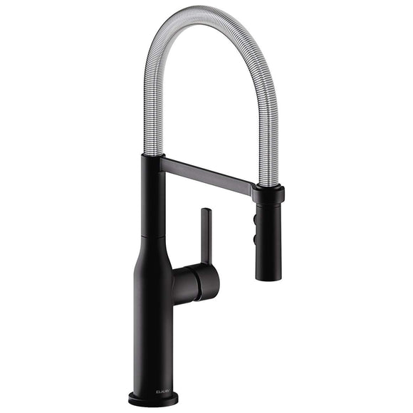 Elkay LKAV1061MBCR Avado Single Hole Kitchen Faucet with Semi-Professional Spout