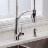 Elkay LKAV4061CR Avado Kitchen Faucet, Semi-Professional Spout Forward Only, Chrome