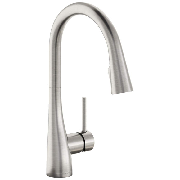 Elkay LKGT4083LS Gourmet Single Hole Kitchen Faucet with Pull-Down Spray