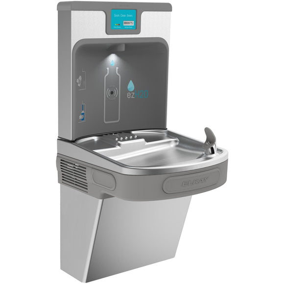 Elkay LZS8WSSP Enhanced EZH2O Filling Station and Single ADA Water Cooler, Filtered 8 GPH