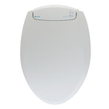 Brondell L60-RB LumaWarm Heated Nightlight Toilet Seat - Round, Biscuit - Bath4All
