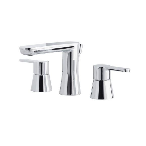 Miseno MNO361CP Mia-G Widespread Bathroom Faucet with Pop-Up Drain Assembly