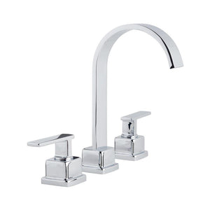 Miseno MNO441CP Elysa-R Widespread Bathroom Faucet with Push Drain Assembly