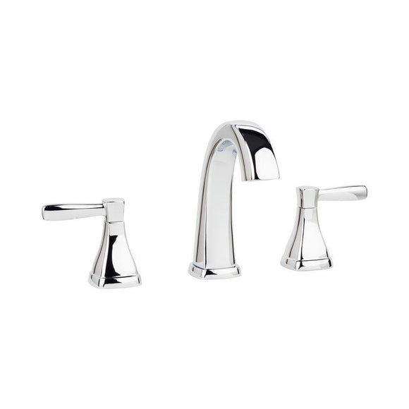Miseno MNO641CP Elysa-V Widespread Bathroom Faucet with Push Drain Assembly