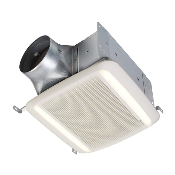 Broan NuTone QTDC SERIES 110-130-150 Selectable CFM Ventilation Fan with LED light, ENERGY STAR