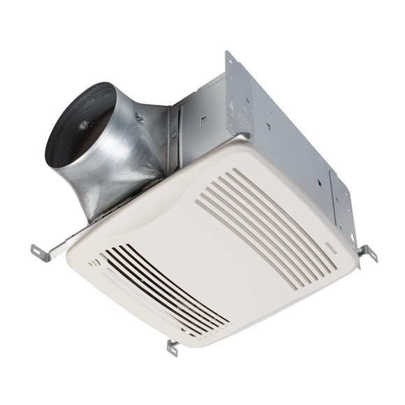 Broan NuTone QTDC SERIES Humidity Sensing Ventilation Fan, 110-130-150 Selectable CFM, ENERGY STAR