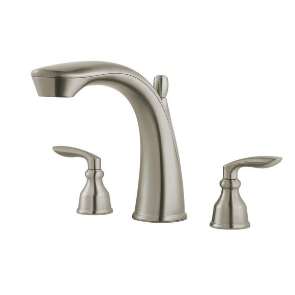 Pfister RT6-5CB1K Avalon Double Handle Roman Tub Trim in Brushed Nickel