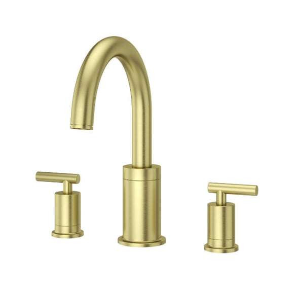 Pfister RT6-5NCBG Contempra Double Handle Roman Tub Trim Handles in Brushed Gold