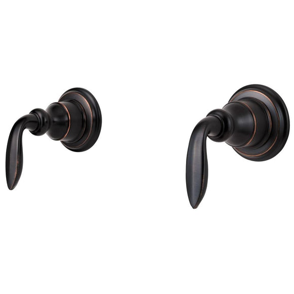 Pfister S10-400Y Avalon Tub and Shower Faucet, Metal Lever Handles in Tuscan Bronze