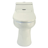 Brondell Swash 1400 Luxury Bidet Elongated Toilet Seat with Dual Nozzles Biscuit