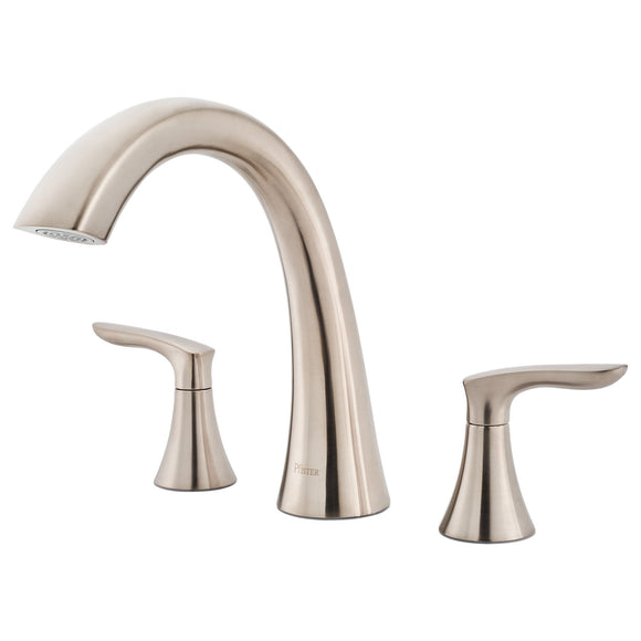 Pfister RT6-5WRK Weller 2-Handle Tub Filler Trim Kit in Brushed Nickel