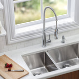 Elkay LKAV4061CR Avado Kitchen Faucet, Semi-Professional Spout Forward Only in Chrome