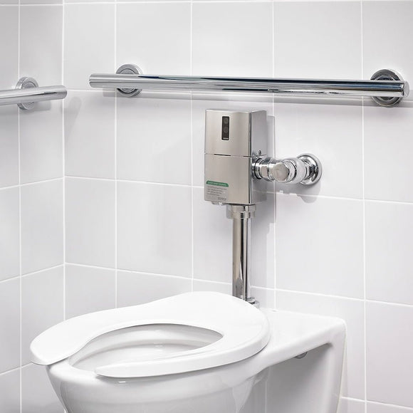 "TOTO ECOPOWER Touchless Toilet Flushometer and 12"" Vacuum Breaker Set in Chrome, SKU: TET1UA32#CP"