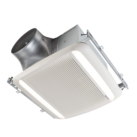 Broan NuTone ULTRA GREEN XB Series 80 CFM Ceiling Bathroom Exhaust Fan with LED Light, ENERGY STAR