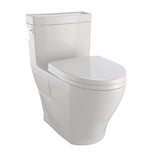 TOTO Aimes WASHLET+ One-Piece Elongated 1.28 GPF Skirted Toilet, Sedona Beige, SKU: MS626124CEFG#12
