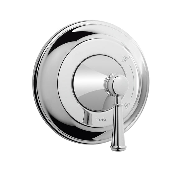 TOTO Vivian Lever Handle Pressure Balance Trim in Polished Chrome, SKU: TS220P1#CP