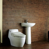 BioBidet USPA6800-E Bidet Seat - Remote, Dual Nozzle, Feminine Wash (Elongated)