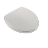 TOTO SoftClose Non Slamming, Slow Close Round Toilet Seat & Lid, Colonial White, SKU: SS113#11