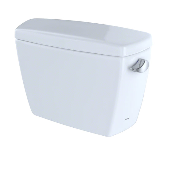 TOTO Drake G-Max 1.6 GPF Toilet Tank with Right-Hand Trip Lever, Cotton White, SKU: ST743SR#01