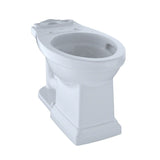 TOTO Promenade II Universal Height Toilet Bowl with CeFiONtect, Cotton White, SKU: C404CUFG#01