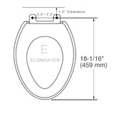 Bio Bidet Exclusive DIB Special Edition Premier Bidet Toilet Seat Elongated, DIB-850-E