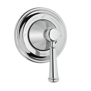 TOTO Vivian Lever Handle Two-Way Diverter Trim with Off in Polished Chrome, SKU: TS220D1#CP
