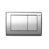 TOTO YT820#CP Push Plate, Convex, Chrome for in Wall Tank System