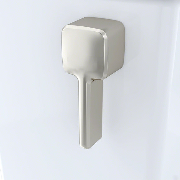 TOTO Trip Lever Handle with Spud and Mounting Nut, Left Hand, #BN