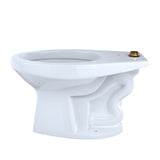 TOTO 1.0 GPF Floor-Mounted Flushometer Toilet Bowl with Top Spud & CeFiONtect, SKU: CT705UNG#01