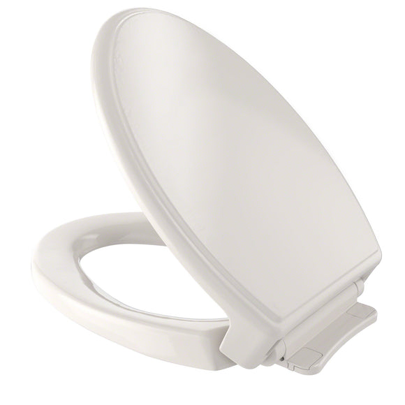 TOTO Traditional SoftClose Non Slamming, Slow Close Toilet Seat and Lid, Beige, SKU: SS154#12