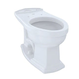 TOTO Eco Clayton and Clayton Elongated Toilet Bowl, Cotton White, SKU: C784EF#01