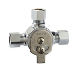 TOTO Manual Mixing Valve for ECOPOWER Faucets in Polished Chrome, SKU: TLM10