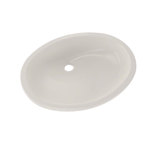 TOTO Dantesca Oval Undermount Bathroom Sink with CeFiONtect, Colonial White, SKU: LT597G#11