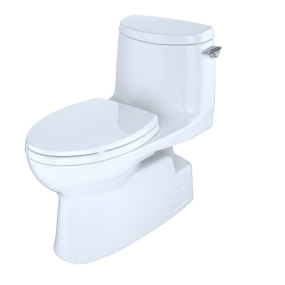 TOTO Carlyle II 1G 1-Piece 1.0 GPF Skirted Toilet and Right-Hand Trip Lever, SKU: MS614114CUFRG#01