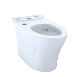 TOTO Aquia IV WASHLET+ Elongated Skirted Toilet Bowl, Cotton White, SKU: CT446CUGT40#01