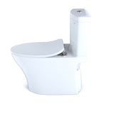 TOTO Aquia IV Dual Flush Toilet & SoftClose Seat, WASHLET+ Ready, Cotton White, SKU: MS446234CUMG#01